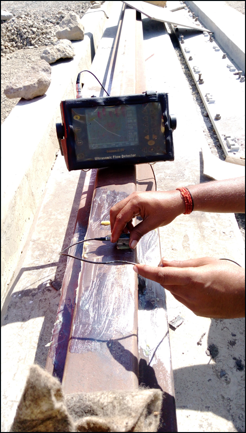 Ultrasonic Testing Of Welded Rail Joints, Mumbai, India
